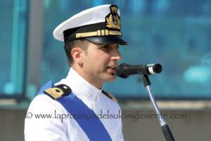 Il tenente di vascello Rocco Chiuri.