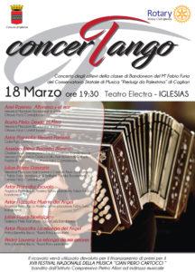 """Sabato 18 marzo il Teatro Electra di Iglesias ospiterà il """"concerTango""""."""