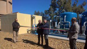 E' stato inaugurato questa mattina, a Musei, il nuovo impianto di trattamento delle acque di sorgente.