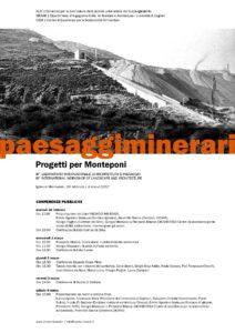 Si conclude sabato mattina, a Monteponi, il III laboratorio internazionale di Architettura e Paesaggio.