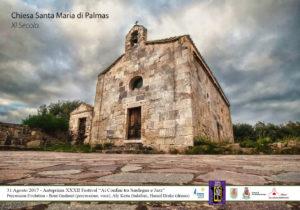 """Anche quest'anno il festival """"Ai Confini tra Sardegna e Jazz"""" avrà un'anteprima con un concerto sul sagrato della Chiesa Romanica di Santa Maria di Palmas."""