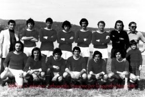 Il calcio sulcitano piange Claudio Sulas, grande protagonista del Carbonia promosso in serie D nella stagione 1977/78.