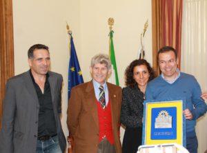 Si è svolta venerdì 31 marzo, nella Sala Remo Branca, la cerimonia di consegna del Premio Iglesias alla Cantina Aru.