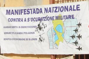 Una nuova manifestazione antimilitarista è stata messa in atto oggi a Domusnovas, con un sit-in davanti allo stabilimento dell'azienda tedesca RWM e un corteo pacifico fino al paese.