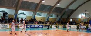 """La Sulcispes supera la Scuola Basket Cagliari e si rilancia nella """"Poule A"""" della serie D di basket."""