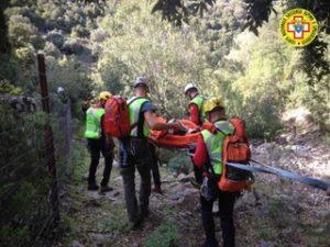 Il Corpo Nazionale Soccorso Alpino e Speleologico ha concluso alle 21.30 il recupero di un'arrampicatrice sul Monte Cusidore, nel comune di Oliena.