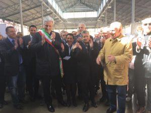 Debutto alla grande, a Cuneo, per il Mercato Enogastronomico, nell'ambito della Borsa Internazionale del Turismo Enogastronomico.