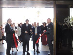 """E' stata inaugurata, in Consiglio regionale, la mostra """"Sironi 1933 – I figurini per Lucrezia Borgia""""."""