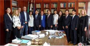 L'assessore regionale dell'Industria ha incontrato oggi una delegazione cinese guidata della provincia di Shandong.