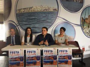 """E' stata presentata questa mattina, a Cagliari, la """"Festa del Gusto 2017""""."""
