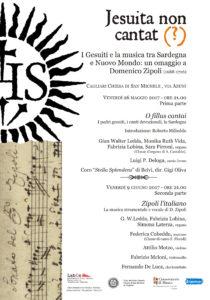 """Domani alle 21.00, a Cagliari, al via il progetto """"Jesuita non cantat (?)""""."""