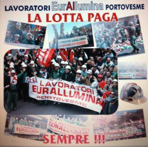 Prosegue la mobilitazione dei lavoratori Eurallumina che il 25 gennaio manifesteranno a Cagliari per sollecitare il via libero definitivo al progetto di rilancio produttivo.