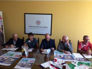 """Claudio Chiappucci ha tenuto a battesimo l'edizione numero 18 del """"Giro delle Miniere""""."""