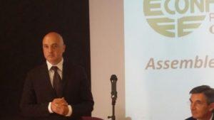 Davide Marcello, 51 anni, cagliaritano, è il nuovo presidente della Confesercenti della provincia di Cagliari.