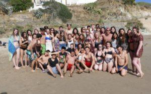 """50 ragazzi stranieri sono stati ospitati a Iglesias nell'ambito del programma """"Scambio Giovani"""" del Rotary."""