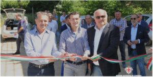 L'assessore regionale dell'Agricoltura Pierluigi Caria ha inaugurato ieri ad Arzachena una nuova condotta idrica di 25 km.