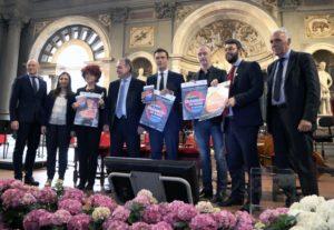 """Si è svolta questa mattina, a Firenze, nel Salone de' Cinquecento in Palazzo Vecchio, la conferenza """"Erasmus+ e il futuro dell'Europa""""."""