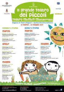 Domenica 7 maggio si rialza il sipario al MoMoTI, a Monserrato, per Il Grande Teatro dei Piccoli.