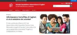 L'Azienda ospedaliero universitaria di Cagliari presenta il suo nuovo portale istituzionale.