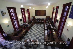 I punti dell'ordine del giorno rimasti inevasi martedì scorso, sono stati integrati nell'ordine del giorno della seduta del Consiglio comunale di Carbonia di martedì 27 febbraio.