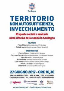 """Domani, 27 giugno, a Cagliari, si terrà un incontro su """"Territorio, non autosufficienza e invecchiamento"""", organizzato dalle Acli della Sardegna."""