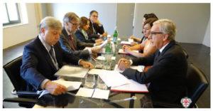 G7 Trasporti: consegnato al ministro Delrio il documento di Sardegna, Corsica e Baleari.