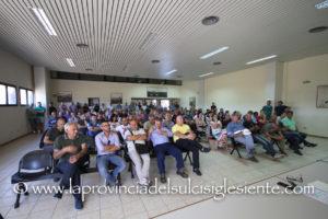 Cresce la mobilitazione sulla Portovesme srl, questo pomeriggio si è svolto un incontro al Consorzio industriale.