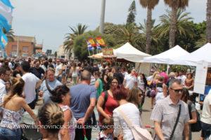 Numeri record per la seconda edizione della Festa del gusto, impreziosita dalla presenza di un'area internazionale.