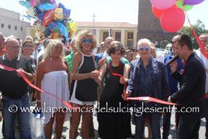 """E' stata inaugurata questa mattina, in piazza Roma, a Carbonia, l'11ª edizione di """"Il Sulcis Iglesiente espone"""""""