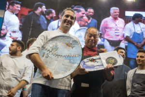 Gli chef Haruo Ichikawa e Lorenzo Lavezzari hanno conquistato il Tuna Competition al 15° Girotonno.
