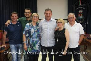 Intervista al nuovo sindaco Salvatore Puggioni, dopo la presentazione della nuova Giunta comunale di Carloforte.