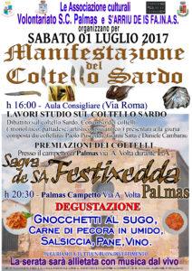 Il 1° luglio San Giovanni Suergiu ospiterà una manifestazione sul coltello sardo.