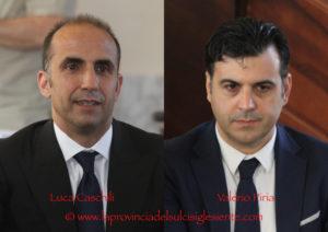 Gli ingegneri ambientali Valerio Piria e Luca Caschili sono i due nuovi assessori della Giunta comunale di Carbonia.