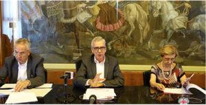 Il presidente Pigliaru e l'assessore Spanu hanno presentato il nuovo Piano regionale per l'accoglienza.