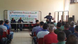 L'assemblea informativa mensile dei lavoratori Eurallumina, si svolgerà giovedì 27 luglio.