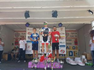 """L'olandese Matthejs Steenhius ha trionfato a Villamassargia, nella seconda tappa del 18° """"Giro delle Miniere""""."""