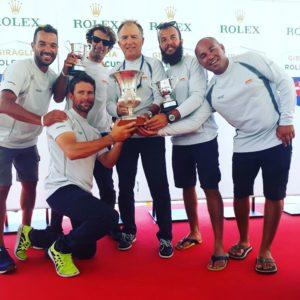 Dhl Adelasia di Torres ha vinto la Giraglia Rolex Cup 2017.