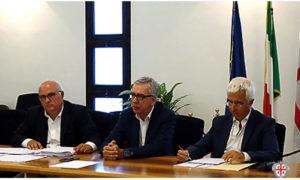 Il presidente Pigliaru e gli assessori Caria e Paci hanno incontrato le associazioni agricole e il mondo della della cooperazione.