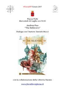 Mercoledì 26 luglio, in Piazza Pichi a Iglesias, incontro con l'autore Andrea Pau.