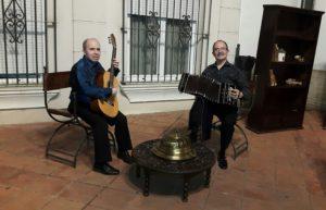 """Iniziano domenica a Masua """"I tramonti di Porto Flavia"""", con il duo """"El Tango""""."""
