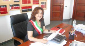Gli auguri di buon lavoro del sindaco di Carbonia, Paola Massidda, ai quattro nuovi sindaci eletti l'11 giugno nei Comuni del Sulcis Iglesiente.