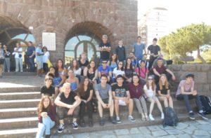 Sono arrivati stamane a Carbonia 15 ragazzi tedeschi nell'ambito dello scambio culturale con la gemellata Oberhausen.