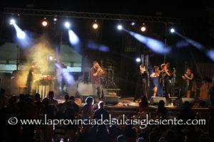 """L'album fotografico della prima serata del XXVII festival """"Narcao Blues""""."""