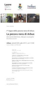 Venerdì 28 luglio, ad Arbus, si terrà una tavola rotonda sulla valorizzazione della pecora nera.