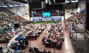 """Il 21 luglio i Testimoni di Geova della Sardegna daranno inizio, a Sassari, al primo dei due congressi annuali dal tema """"Non ti arrendere!""""."""