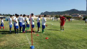 """Allo stadio """"Carlo Zoboli"""" grande successo per il primo master di formazione dei giovani portieri di calcio."""