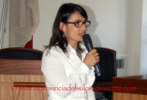 Sabrina Sabiu è il nuovo assessore della Cultura, Turismo e Spettacolo del comune di Carbonia.