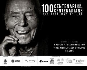 """Verrà inaugurata martedì 8 agosto, a Silanus, la mostra fotografica """"100 centenari"""" di Luigi Corda."""