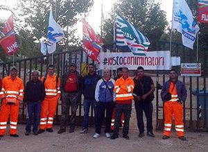 L'assessore regionale dell'Industria, Maria Grazia Piras, oggi ha incontrato i minatori di Olmedo, rimasti senza mobilità.
