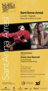 """Mare e Miniere 2017 si conclude questa sera a Sant'Anna Arresi, con il concerto """"L'Ultima Sciamana. Il Messico di Chavela Vargas""""."""